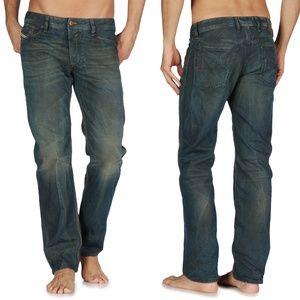 Diesel Waykee Straight Leg Jeans in 0808H 32x29